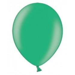 10 Ballonnen extra sterk Metallic malachit groen