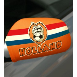 Setje Holland spiegelhoesjes met leeuw
