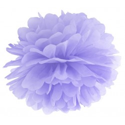 Pompoms 25 en 35 cm lila
