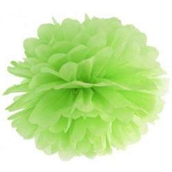 Pompoms 25 of 35 cm appel groen