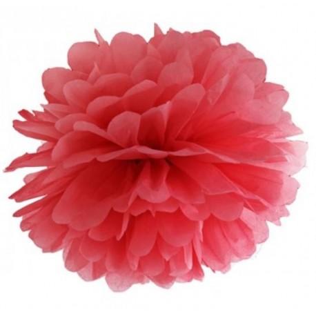 Pompoms 25 of 35 cm rood