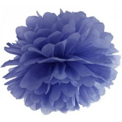 Pompoms 25 of 35 cm navy blue