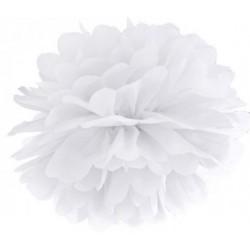 Pompoms 25 of 35 cm wit
