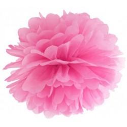 Pompoms 25 of 35 cm roze