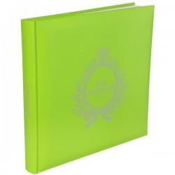 Gastenboek Just Married groen