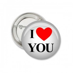 Button I Love You