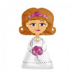 Airwalker ballon Bride