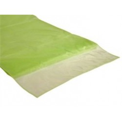 Organza tafelloper appel groen