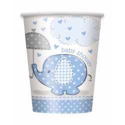 Baby Shower blue beker