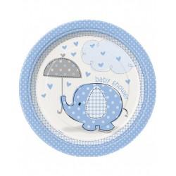 Baby Shower blue bord