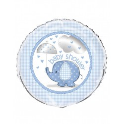 Baby Shower blue folieballon