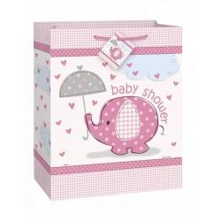 Baby Shower pink tasje