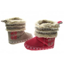 Prachtige baby Boots Rendier in rood of beige