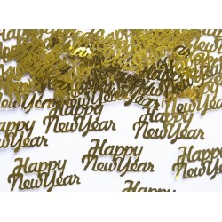 Confetti goud Happy New Year