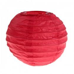 Tweedelige mini lampionset rood