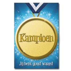 Button card Kampioen