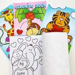 Kleurboekje dieren Love