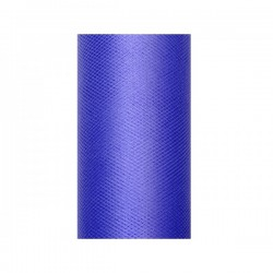 Tule rol navy blue 8 cm breed x 20 meter lang