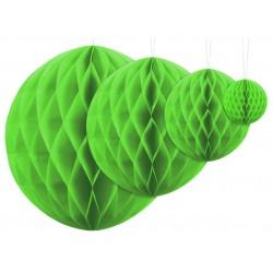 Aantrekkelijk geprijsde honeycomb bollen in 4 maten appel groen