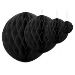 Aantrekkelijk geprijsde honeycomb bollen in 4 maten zwart