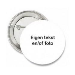 Button met eigen tekst en/of foto