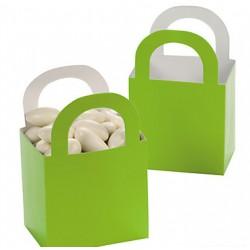 Aantrekkelijke geprijsde en grappig vorm gegeven giftboxes lime green