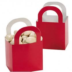 Aantrekkelijke geprijsde en grappig vorm gegeven giftboxes rood