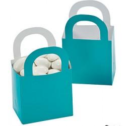 Aantrekkelijke geprijsde en grappig vorm gegeven giftboxes turquoise
