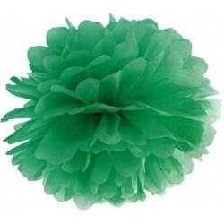 Pompoms 25 of 35 cm emerald green