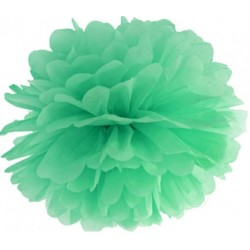Pompoms 25 of 35 cm mint