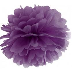Pompoms 25 of 35 cm paars