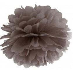 Pompoms 25 of 35 cm bruin