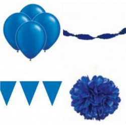 Decoratiepakket Donker Blauw