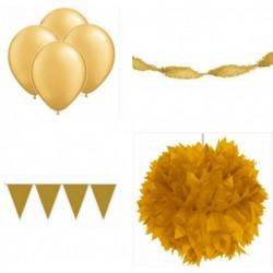 Decoratiepakket Goud