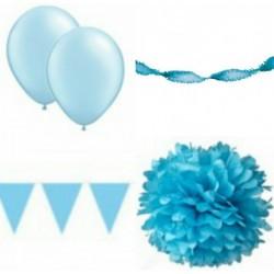 Decoratiepakket Licht Blauw