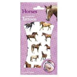 Vel paarden tattoo's