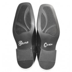 'Game over' schoen sticker met strassteentjes