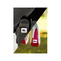 Schoenstickers Mr en Mrs