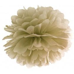 Aantrekkelijk geprijsde pompoms 25 of 35 cm caramel