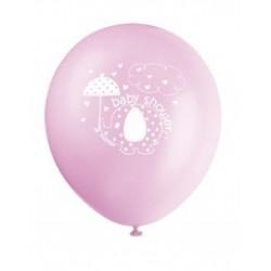 Ballonnen Baby Shower pink