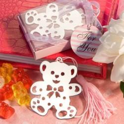 Boekenlegger Teddybeer pink