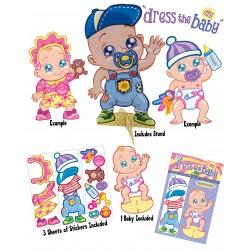 Babyshower spel Dress the Baby