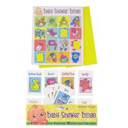 Babyshower Bingo spel