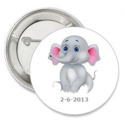 Button Baby Elephant