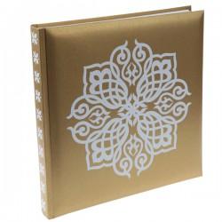 Gastenboek Oriental goud