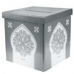 Moneybox Oriental zilver