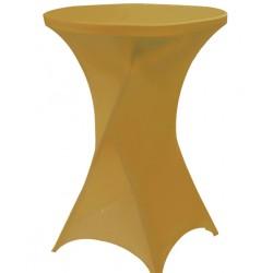 Stretch hoes voor sta tafels goud