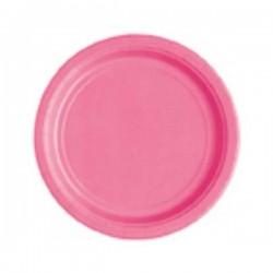 Kartonnen bordjes donker roze