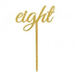 Pak met 12 gouden tafel nummers Perfect Love