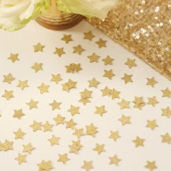 Tafel confetti Metallic Perfection Gold star
